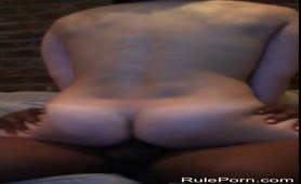 Sexy wife riding big black dick
