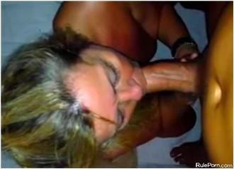 Recording My Wife Sucking Me Off Like A Slut In POV