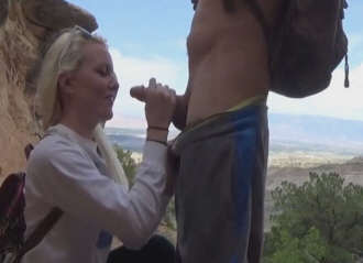 College Girl Sucking Dick In Public Place
